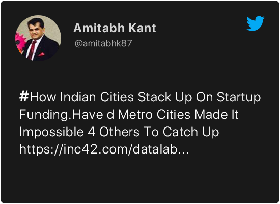 Amitabh Kant on Startups