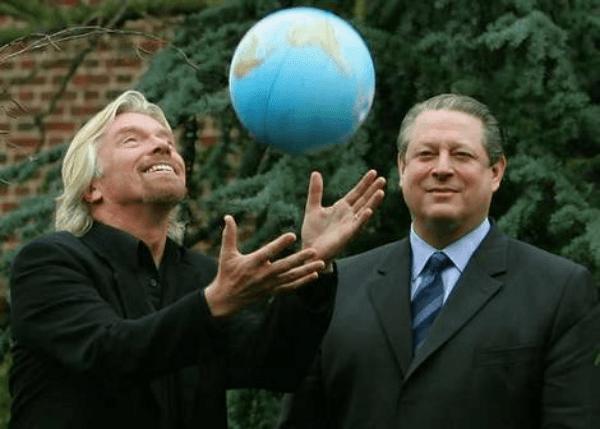 richard branson globe