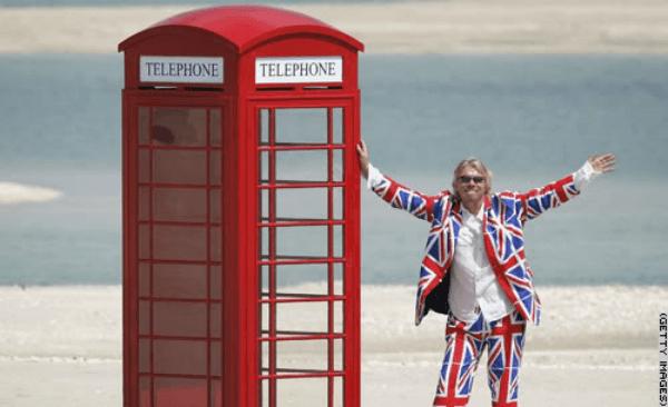 richard branson telephone