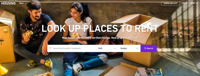 Housing - Rent Page - Snapshot