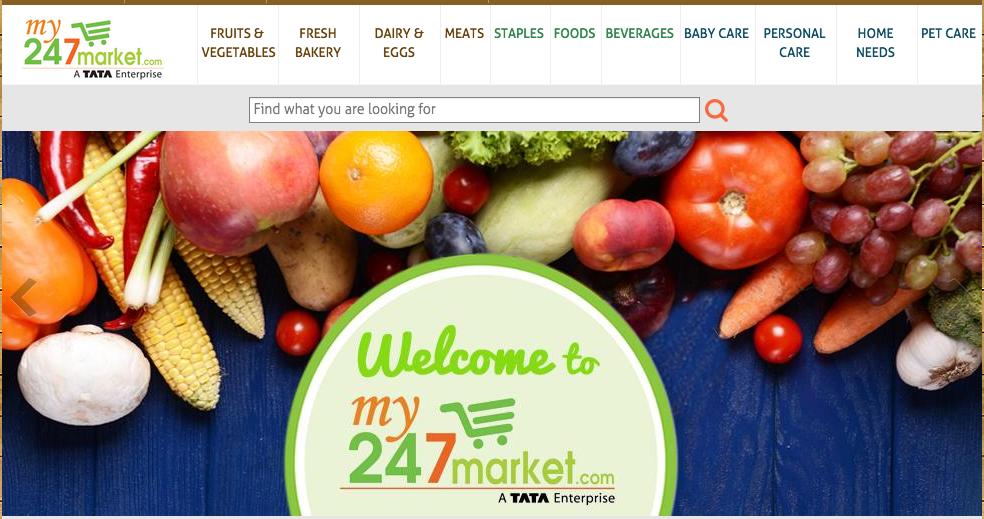 tata grocery my247