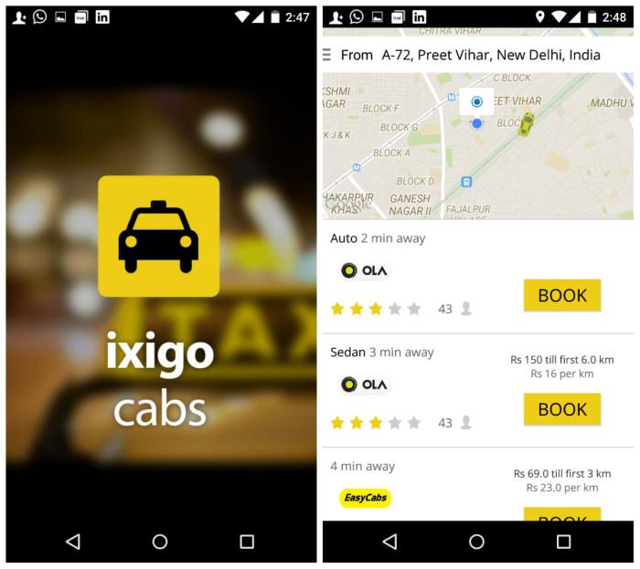 ixigo cabs inc42