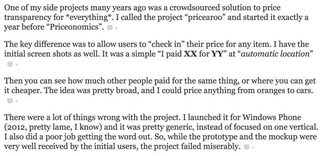 Screenshot from MarketExpress Interview