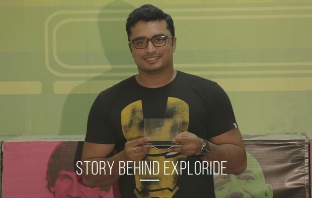 Sunil Vallath, founder & CEO of Exploride