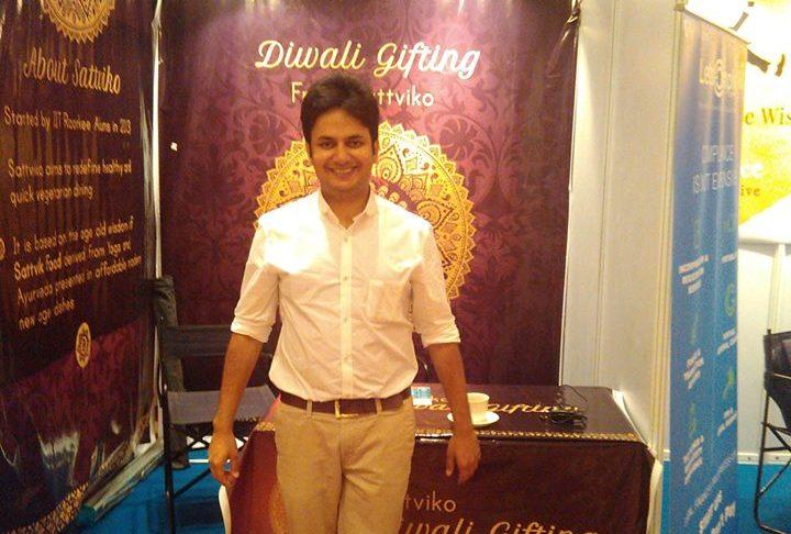 Prasoon Gupta, co-founder and director, Sattviko