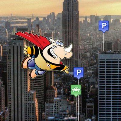 parking rhino