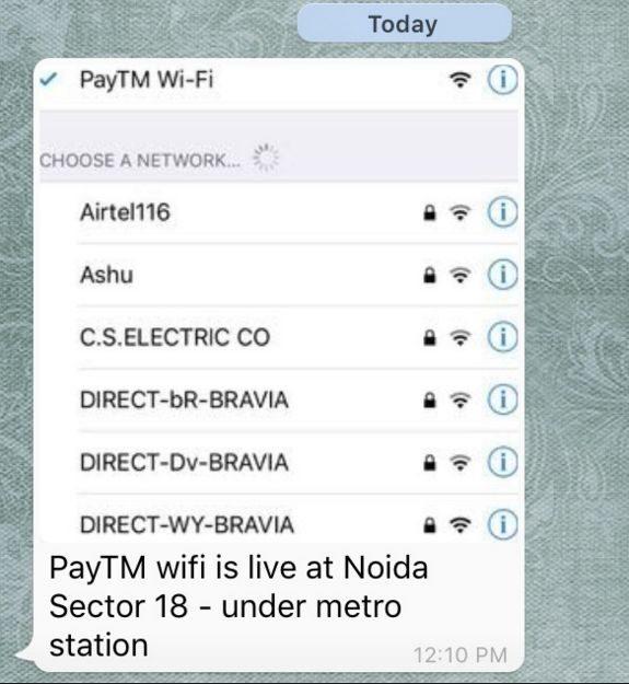 paytm wi-fi