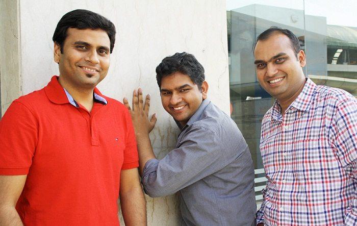 Roposo CoFounders L-R Kaushal Shubhak, Avinash Saxena and Mayank Bhangadia