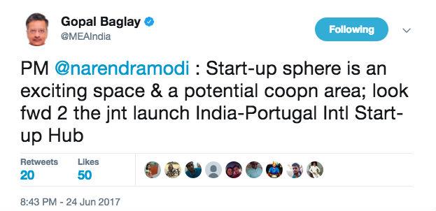 India Portugal International Startup Hub