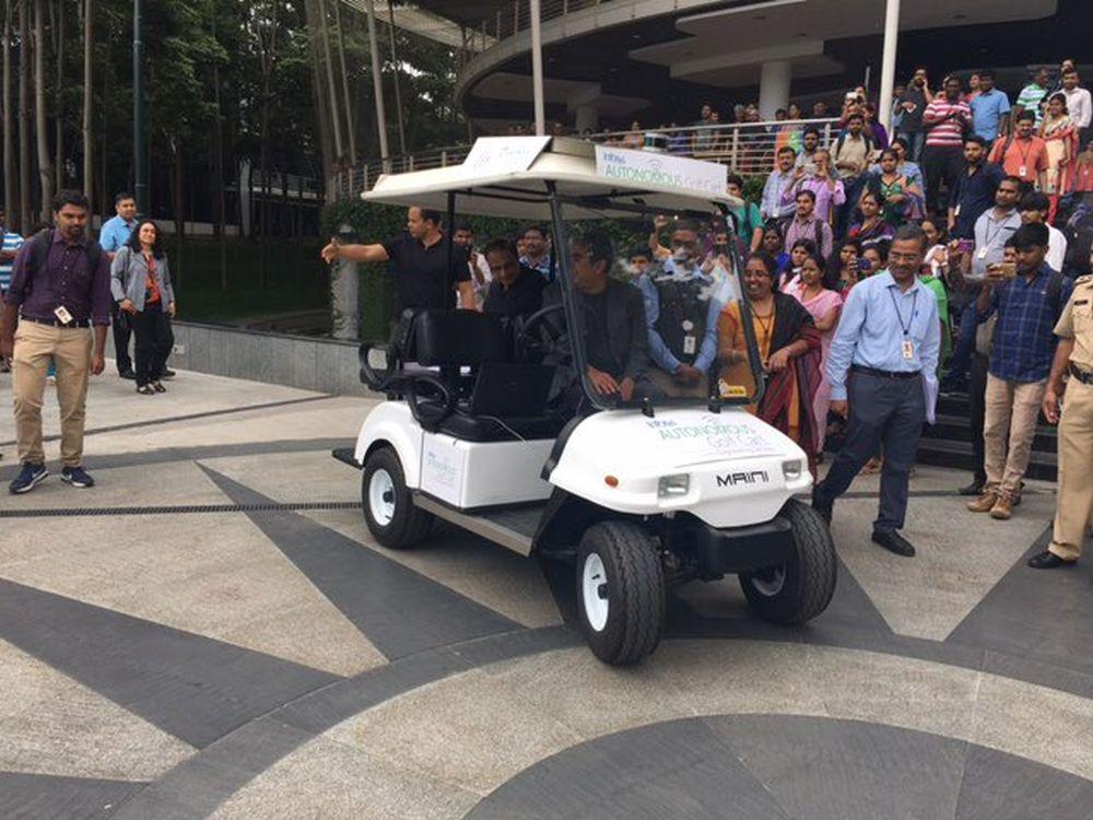 infosys-driverless-vishal sikka