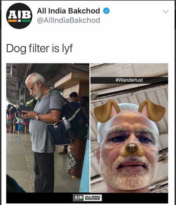 AIB-PM Modi-tweet