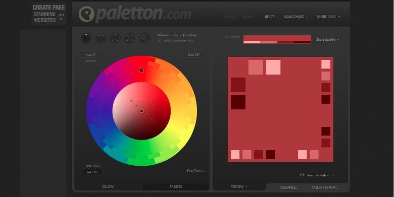 brand colour palette 3