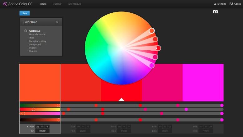 brand colour palette 5