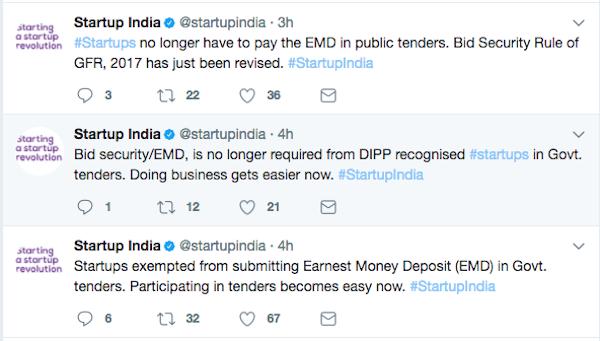 government tenders-startups-dipp