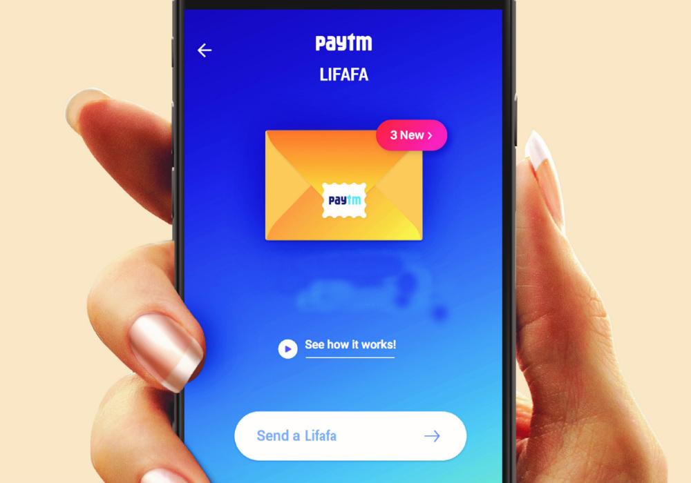 paytm-india post-digital wallet-postcard