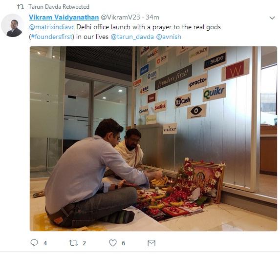 Matrix partners-startups-VC-delhi