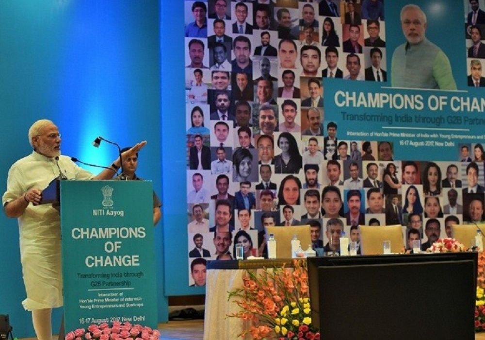 champions of change-narendra modi-startups-entrepreneurs