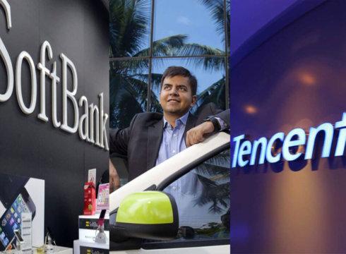 softbank-ola-tencent-cab aggregator-funding