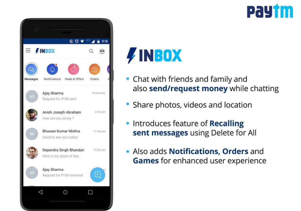 paytm inbox-messaging-whatsapp-digital payments