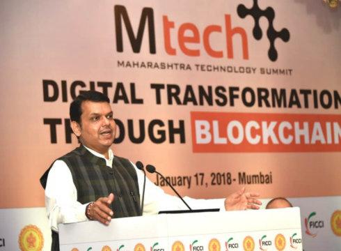 maharashtra technology summit-maharashtra-devendra fadnavis-blockchain