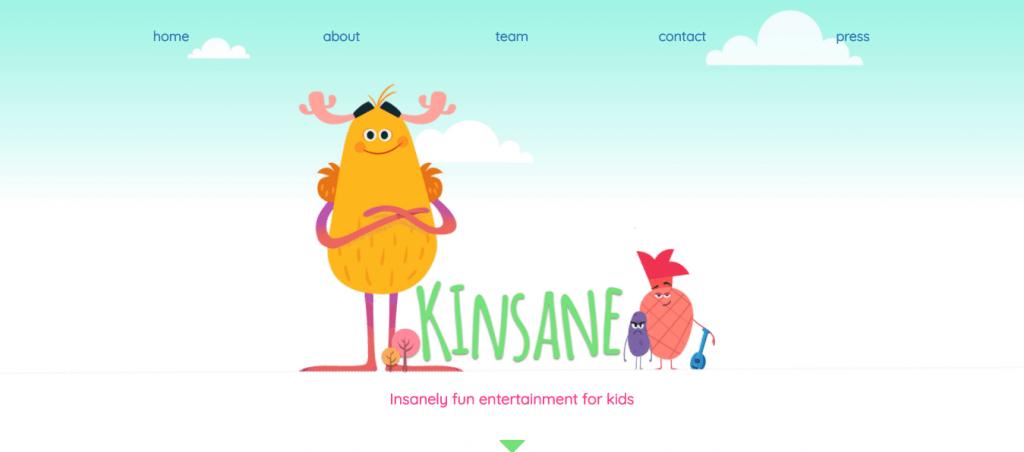 kinsane-digital entertainment-funding