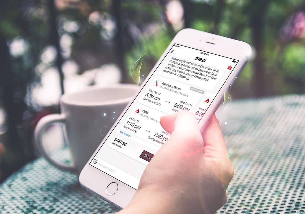 American Express-Mezi-app