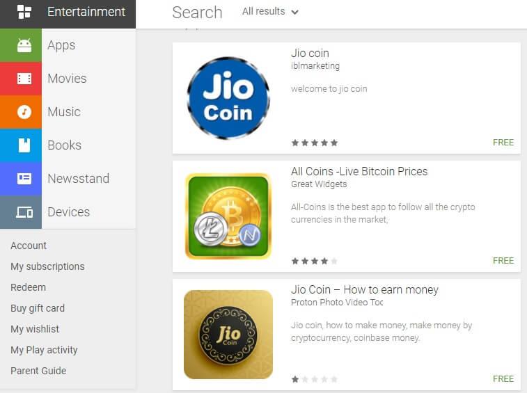 reliance jio-jiocoin-cryptocurrency