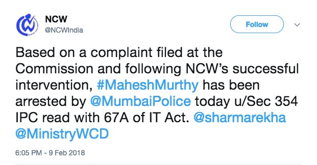 mahesh murthy-bail-sexual harassment