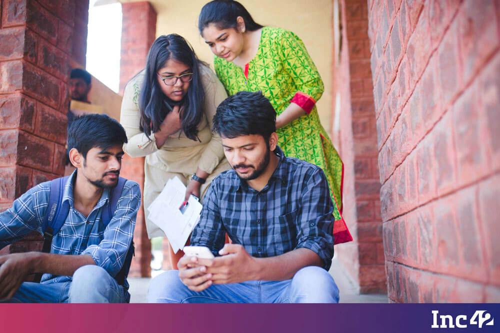 Students of Rajasthan Technical University - Digital Rajasthan Yatra