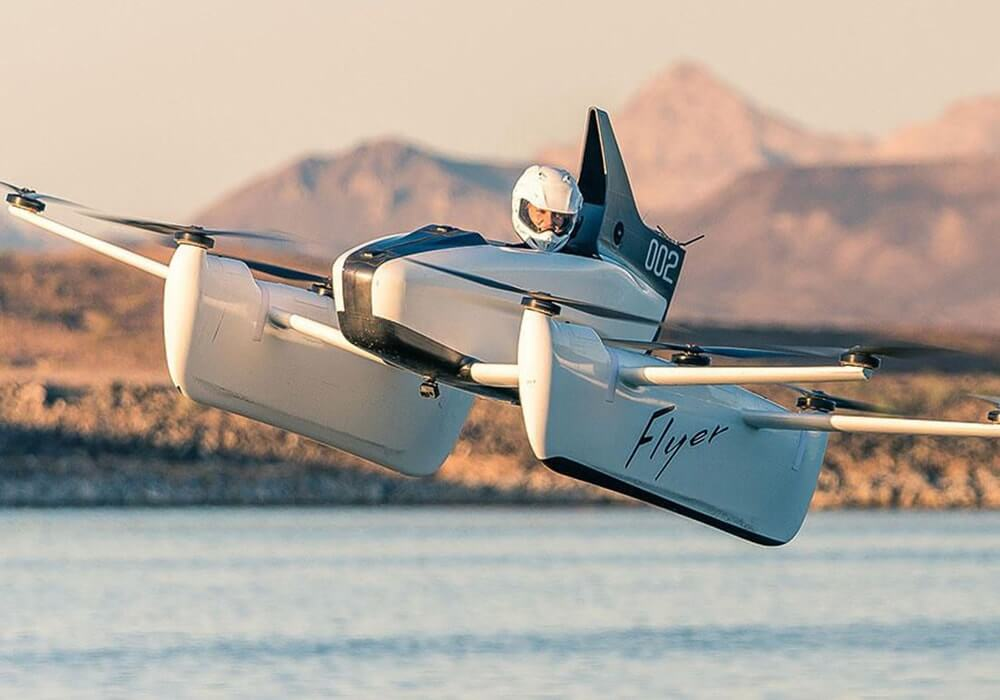 Google Co-founder Larry Page's Latest Flying Car 'Kitty Hawk Flyer' Is Here