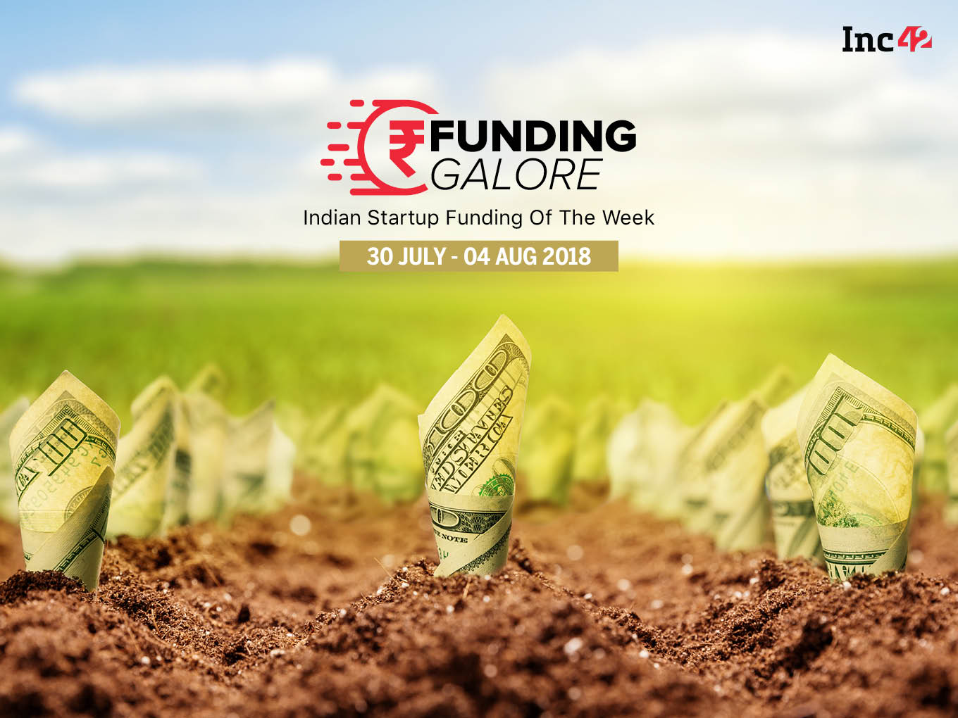 Funding Galore: Indian Startup Funding Of The Week [30 July- 4 August 2018]