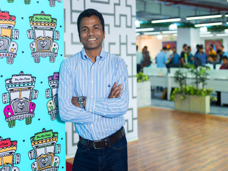 Rajesh Yabaji Logistics Startup Blackbuck