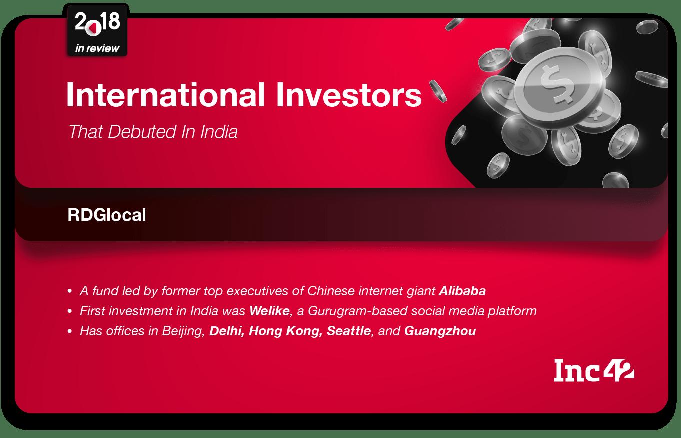 RDGlocal India investment