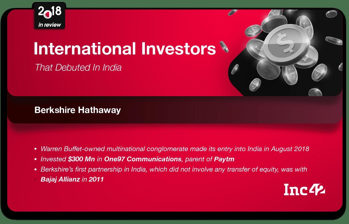 Berkshire Hathaway India investment