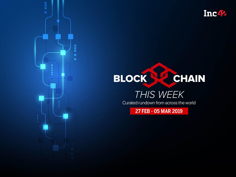 Blockchain This Week: SEBI's 'Regulatory Sandbox' Approach, And More
