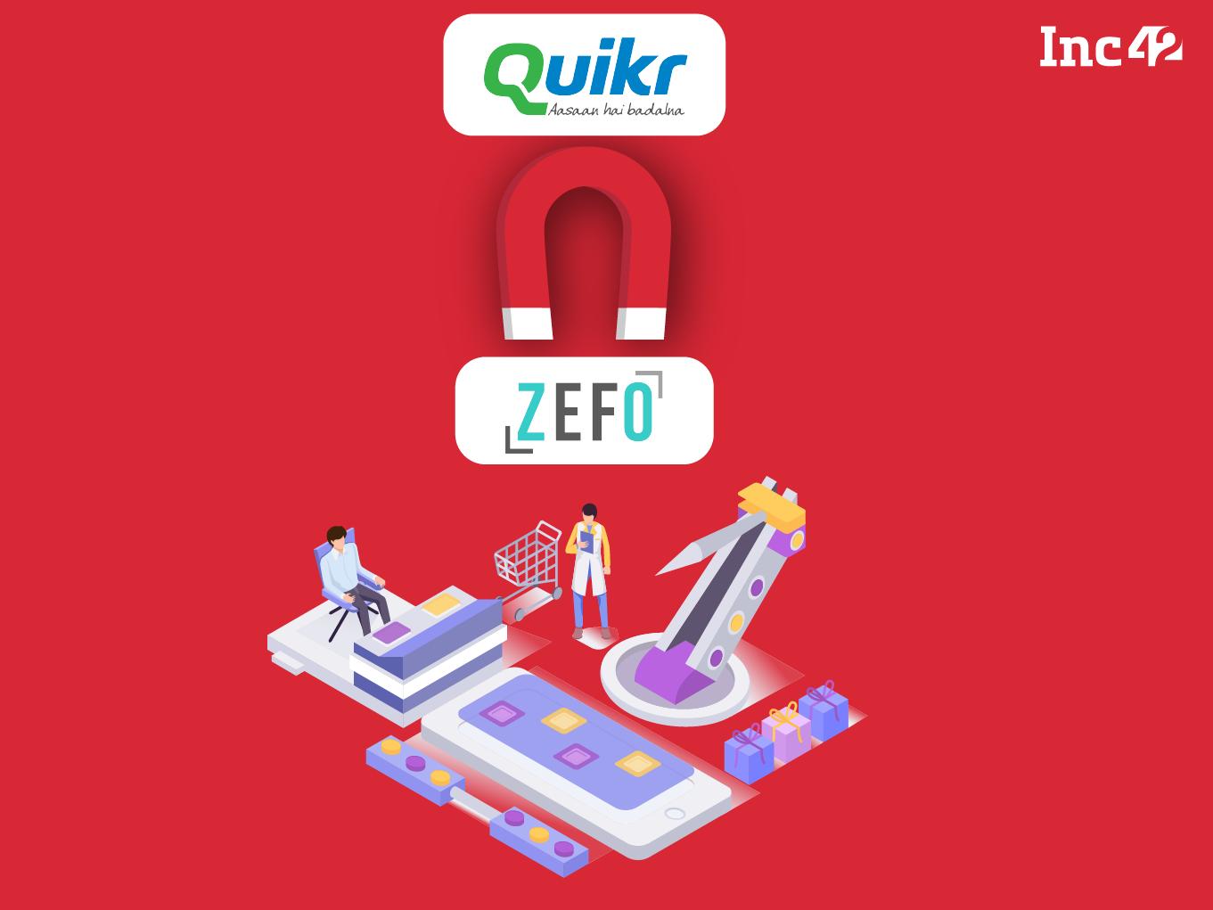 Breaking: Quikr Acquires Used Goods Marketplace Zefo