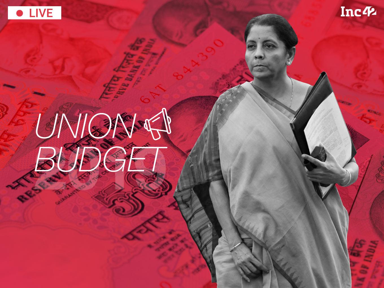 LIVE Union Budget 2019: News, Analysis & Impact On Indian Startup Ecosystem