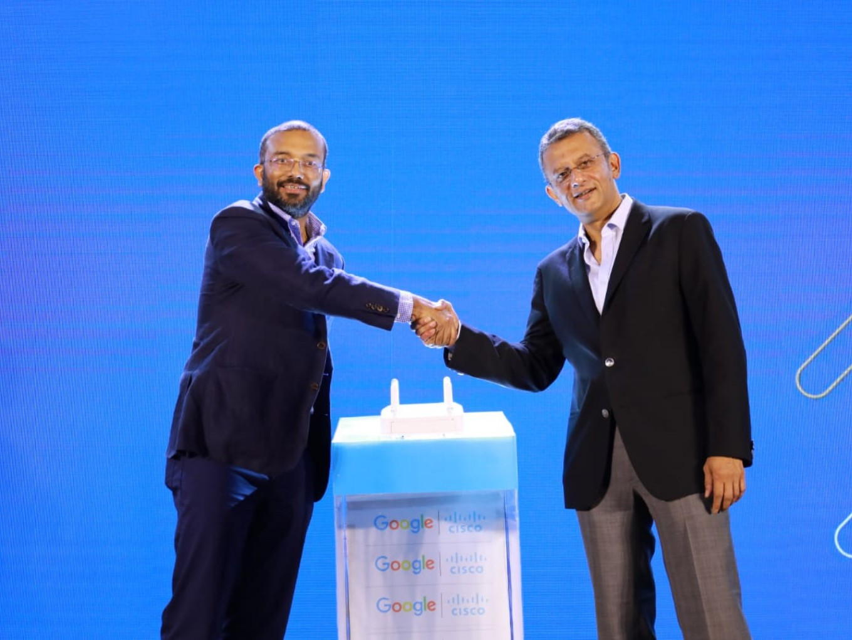 Cisco Partners With Google Station To Setup Public Wi-Fi Zones Across India