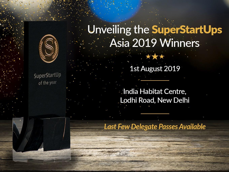 SuperStartUps (SSU) Asia 2019 Awards