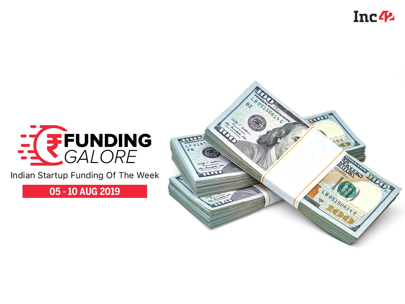 Funding Galore: Indian Startup Funding Of The Week [5-10 Aug]