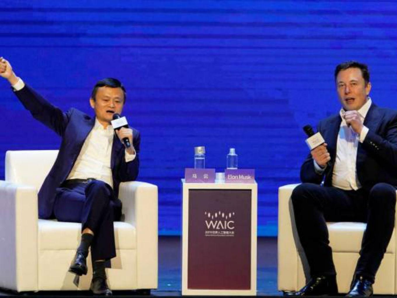 Elon Musk Vs Jack Ma On Power Of AI And Future Of Computers
