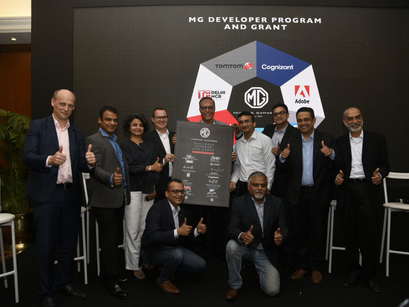 MG Motor India Launches MG Developer Programme To Support Futuristic Mobility Solutions
