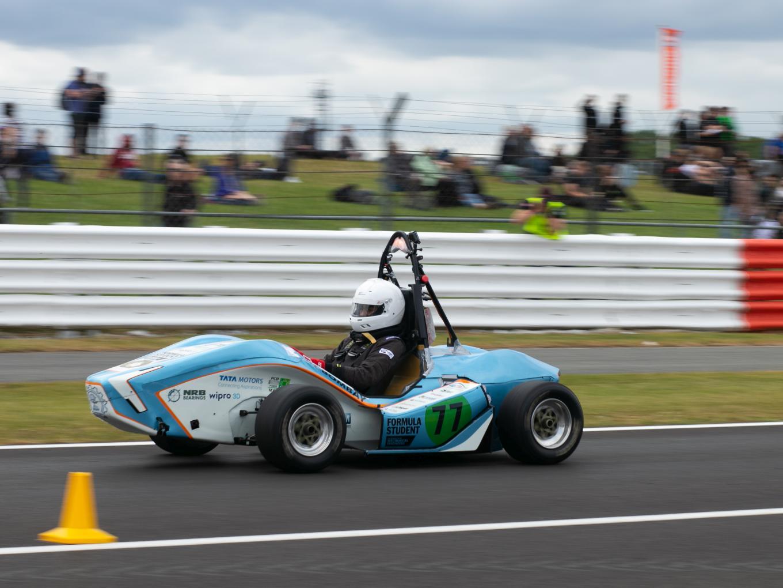 "Tata Motors, IIT-Bombay Students Build An Electric Race Car ""EVoK"""
