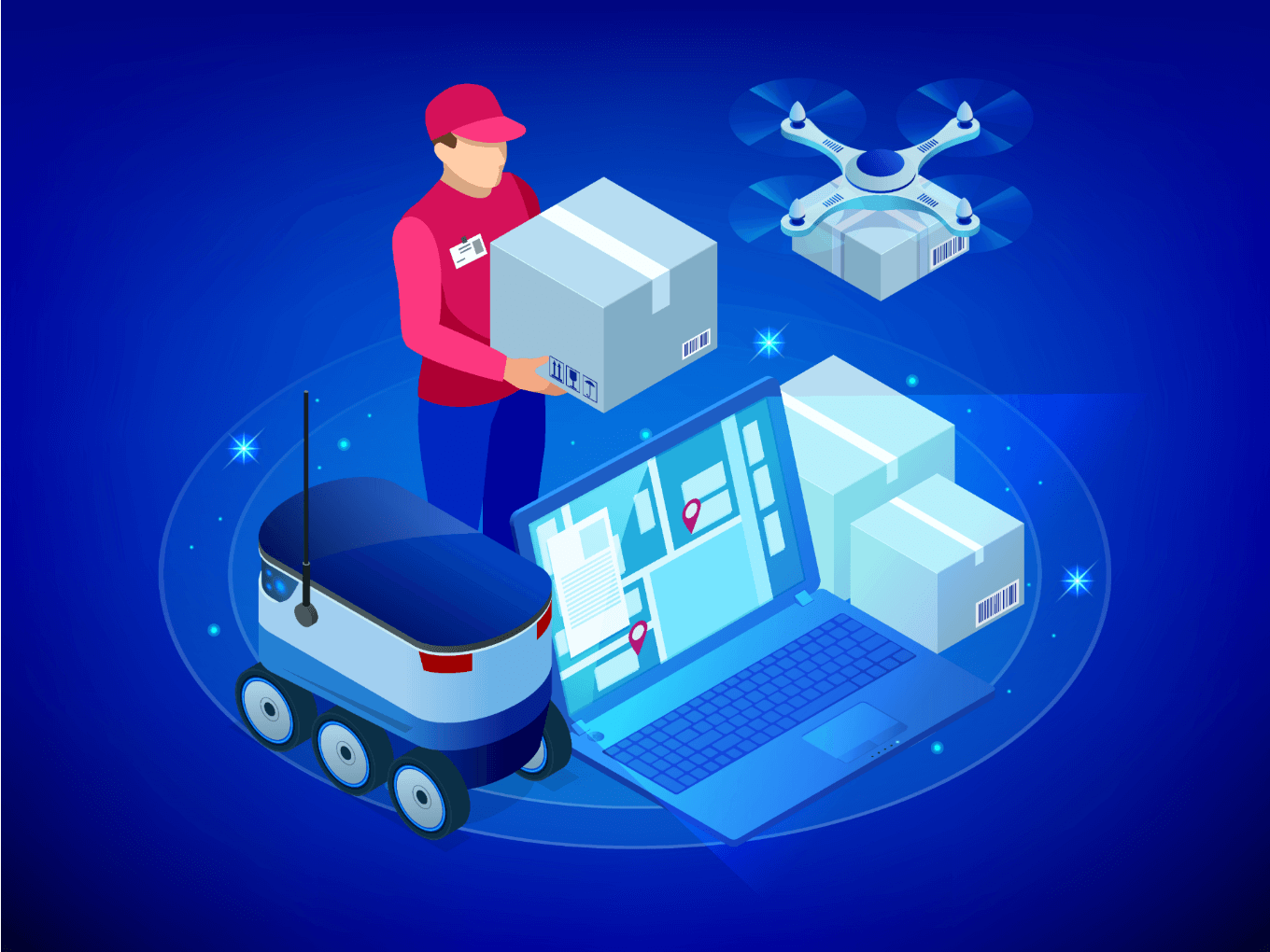 How AI And Modern Technologies Are Transforming Logistics Sector