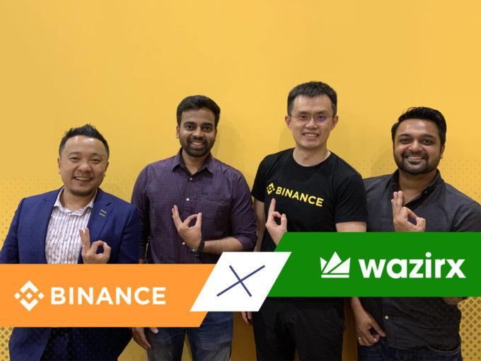 binance acquires wazirx