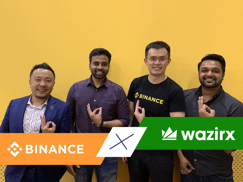 Breaking: Binance Acquires Indian Crypto Startup WazirX