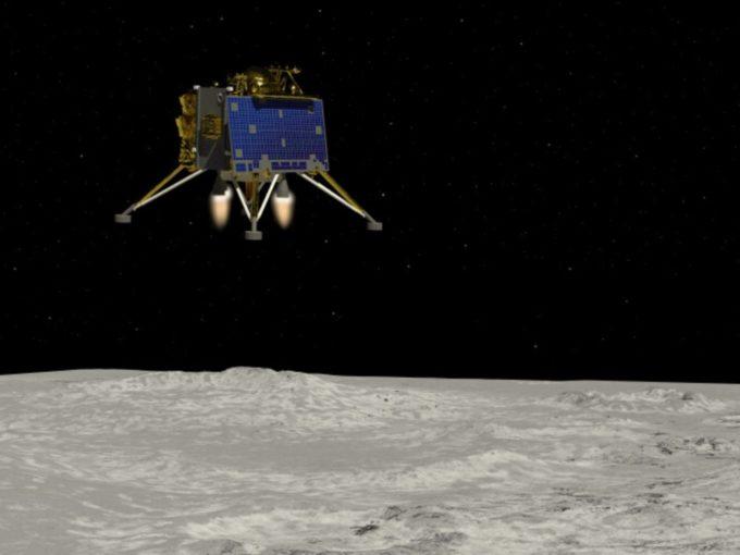 NASA Spots Chandrayaan-2's Vikram Lander Crash Site After ISRO Tip-Off