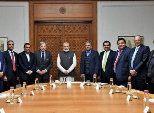 PM Modi Seeks Support Of Biz Tycoons Solve India's Economic Crisis