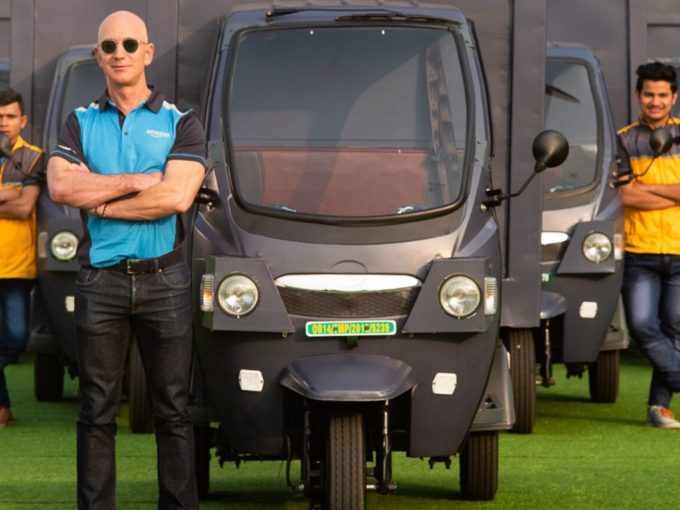 Amazon To Adopt 10K Electric Vehicles Made By Indian OEMs