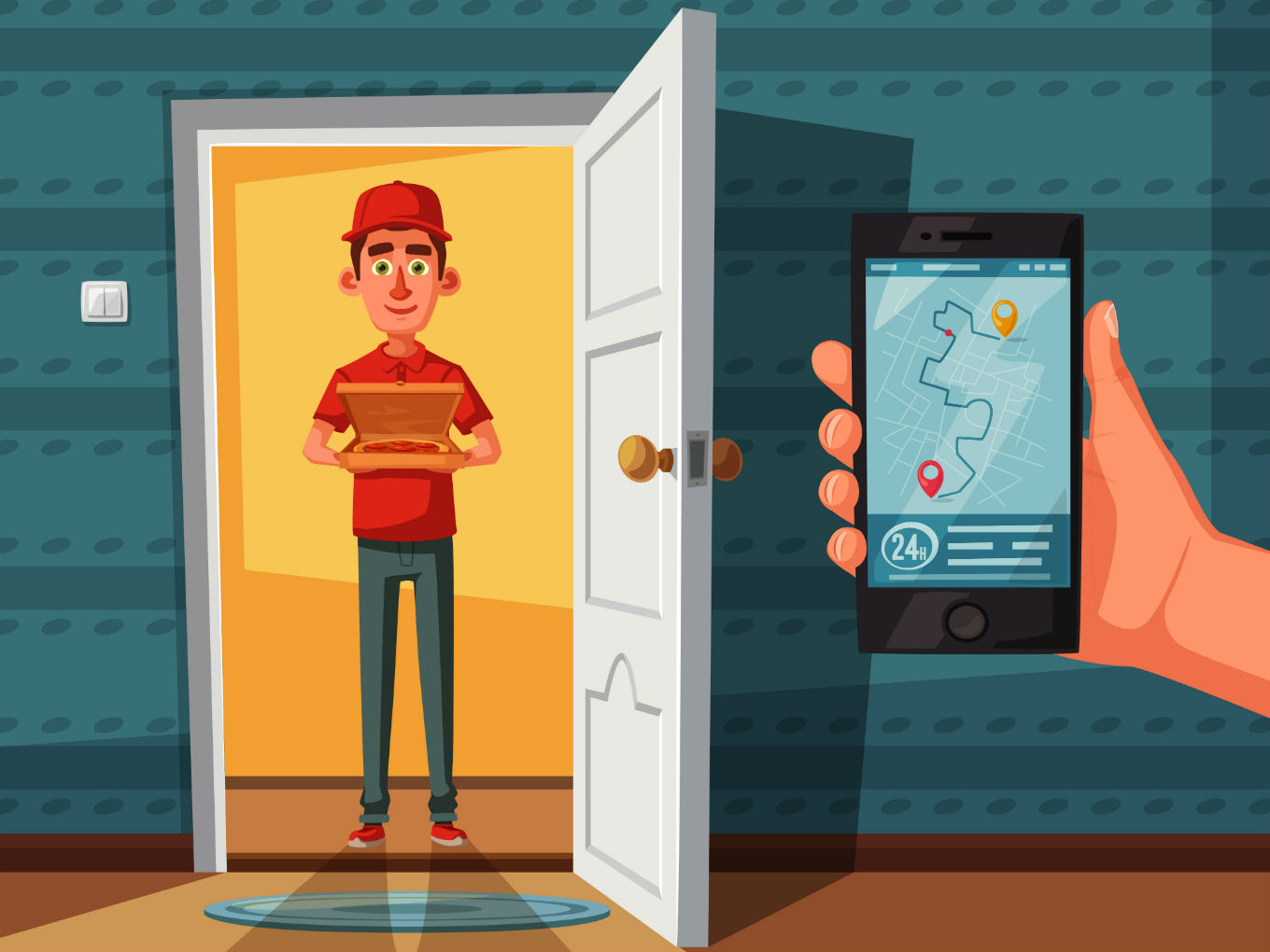 How Do Online Food Delivery Services Like Zomato, Swiggy Work?